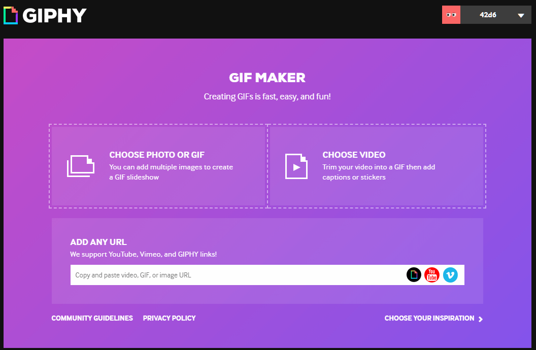 GIF Maker – Create GIFs from Videos or Images _ Giphy – Google
