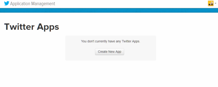 Twitter Application Management