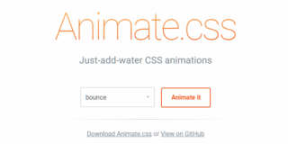 Animate.cssでhover,click,scrollなどイベントでアニメーション処理する応用テクニック